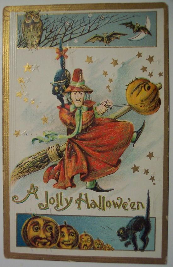 Ilustracion vintage Halloween 182