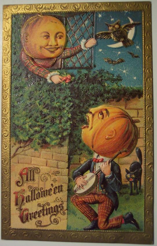 Ilustracion vintage Halloween 183