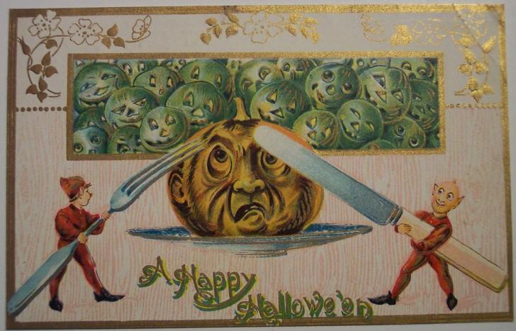 Ilustracion vintage Halloween 184