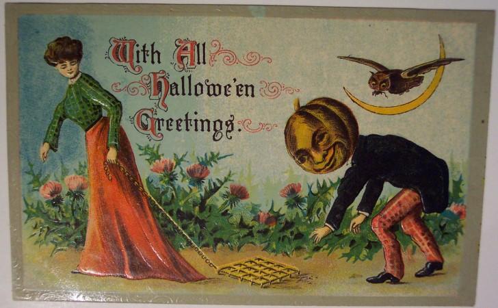Ilustracion vintage Halloween 185