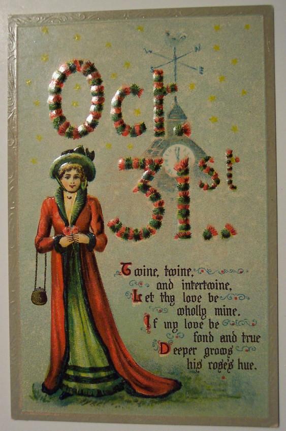 Ilustracion vintage Halloween 186