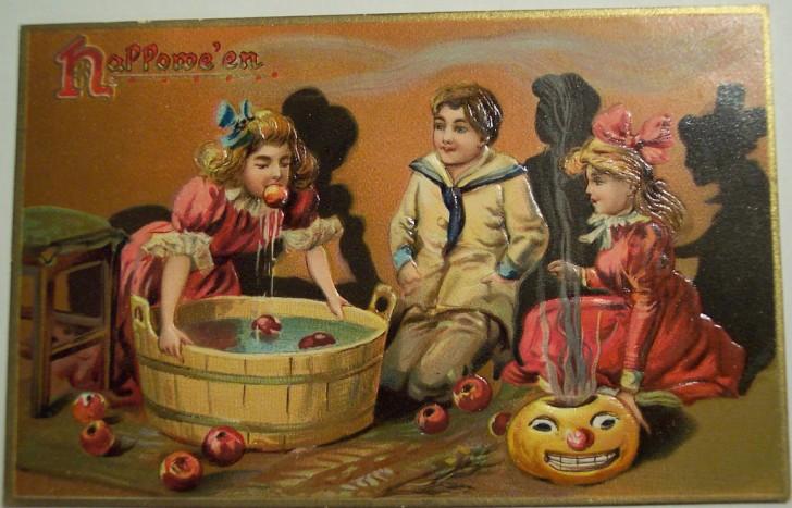 Ilustraciones Halloween antiguas 001