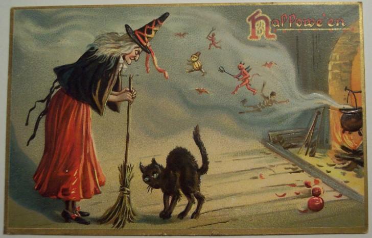 Ilustraciones Halloween antiguas 005
