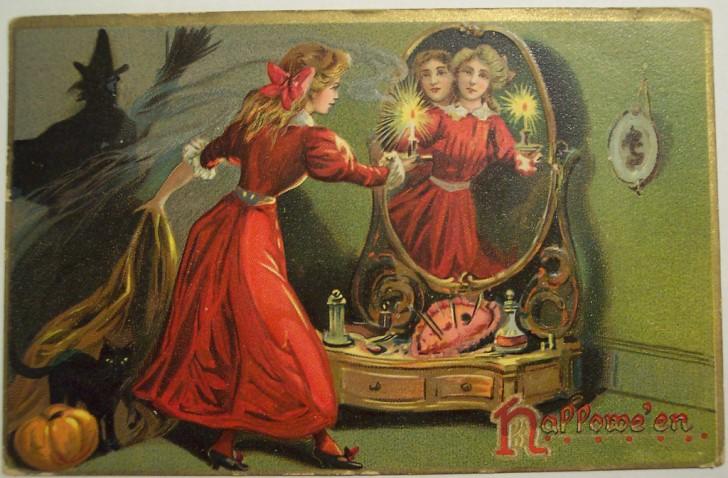 Ilustraciones Halloween antiguas 006