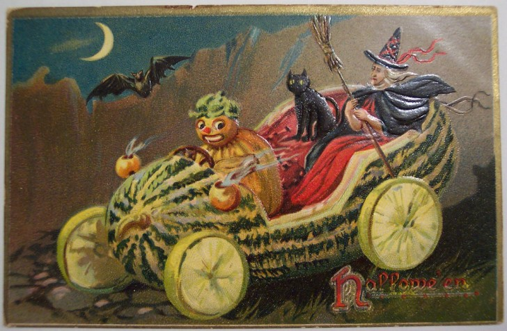 Ilustraciones Halloween antiguas 007