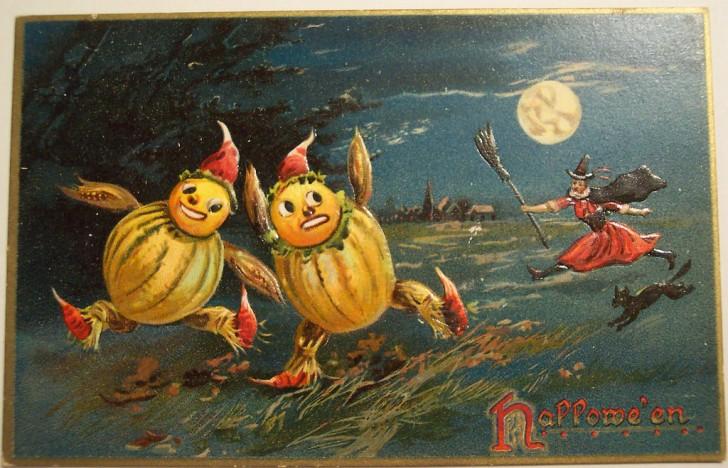 Ilustraciones Halloween antiguas 008