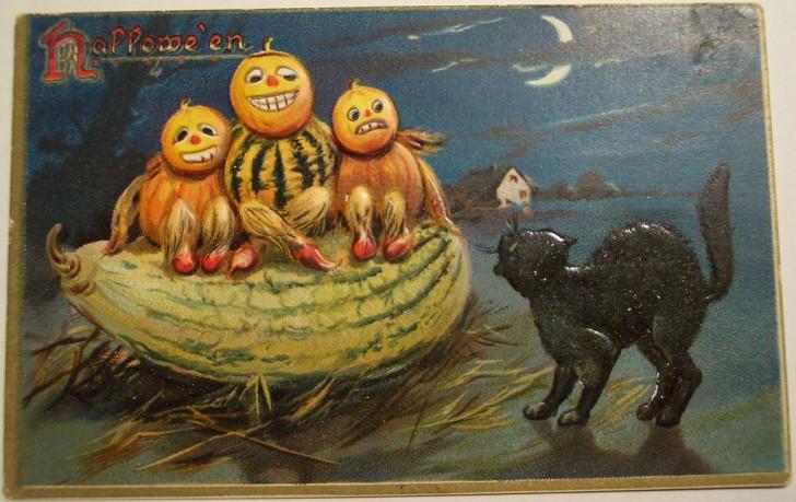 Ilustraciones Halloween antiguas 009