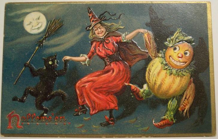 Ilustraciones Halloween antiguas 010