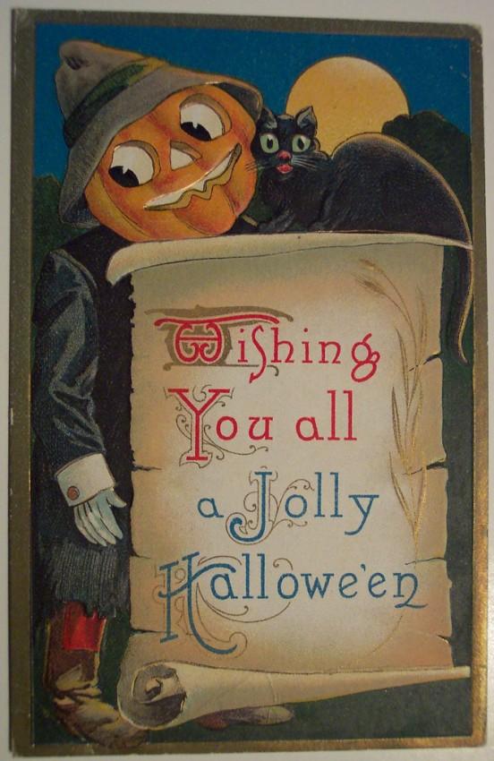 Ilustraciones Halloween antiguas 011