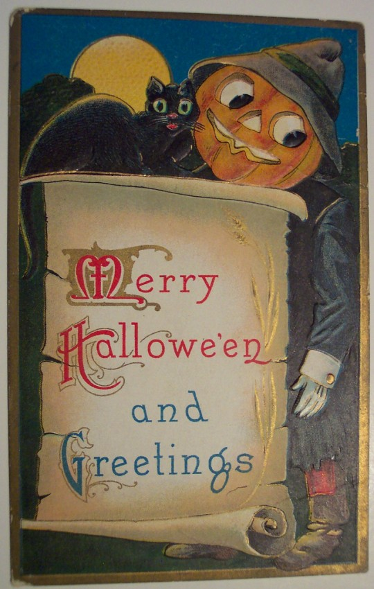 Ilustraciones Halloween antiguas 012