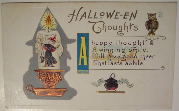 Ilustraciones Halloween antiguas 013