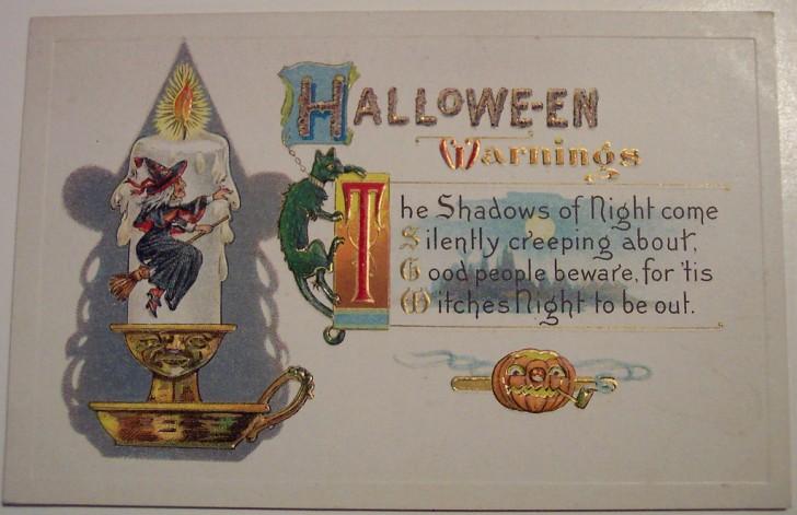 Ilustraciones Halloween antiguas 014