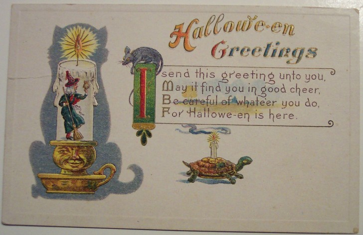 Ilustraciones Halloween antiguas 015
