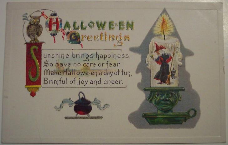 Ilustraciones Halloween antiguas 016