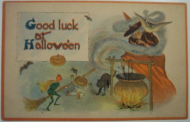 Ilustraciones Halloween antiguas 017
