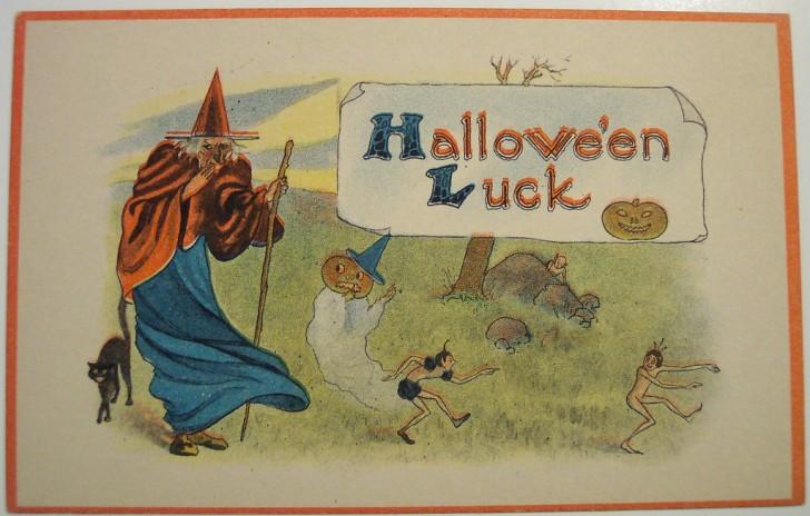 Ilustraciones Halloween antiguas 018