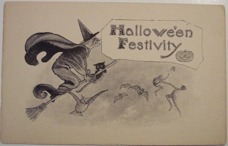 Ilustraciones Halloween antiguas 019