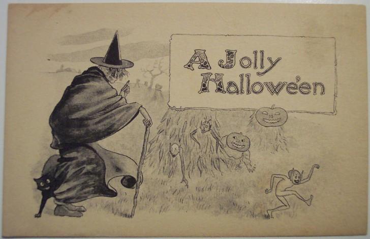 Ilustraciones Halloween antiguas 020