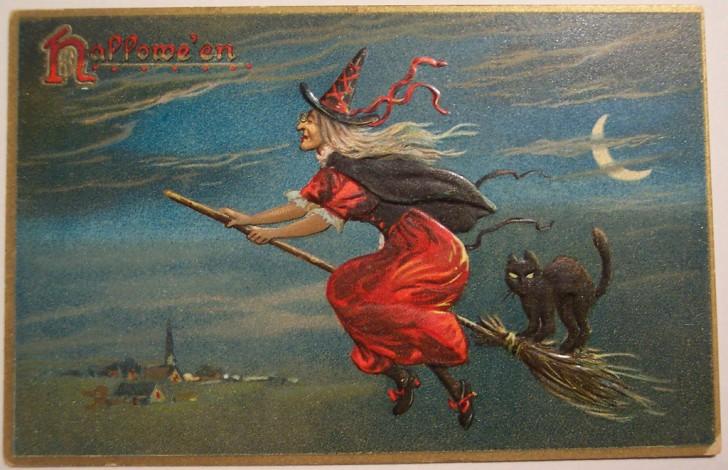 Ilustraciones Halloween antiguas 021