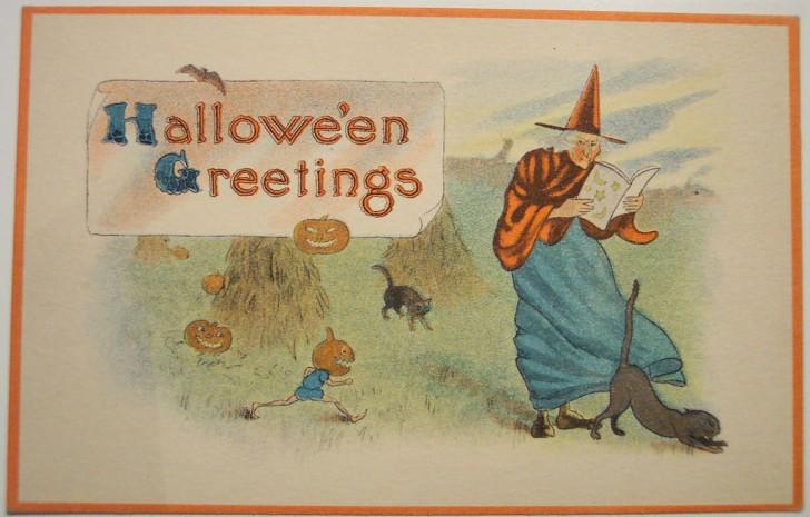 Ilustraciones Halloween antiguas 022