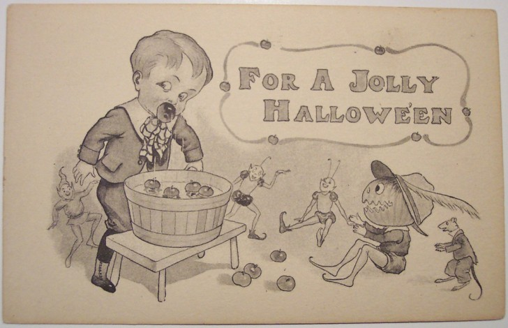 Ilustraciones Halloween antiguas 023