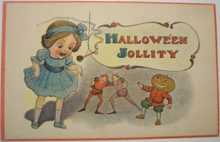 Ilustraciones Halloween antiguas 024