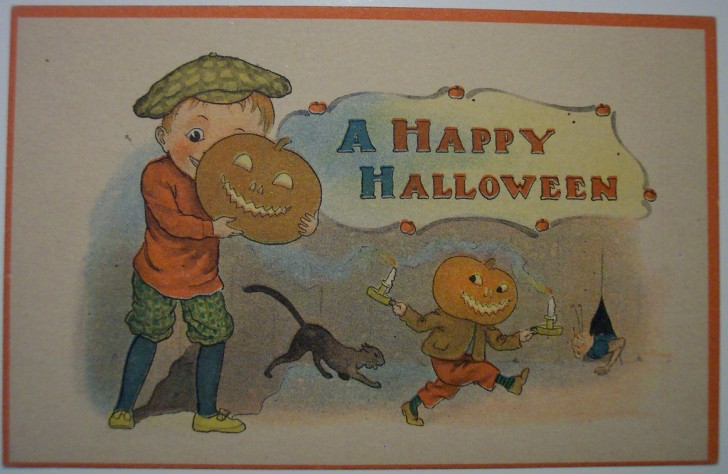 Ilustraciones Halloween antiguas 025