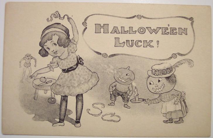 Ilustraciones Halloween antiguas 026
