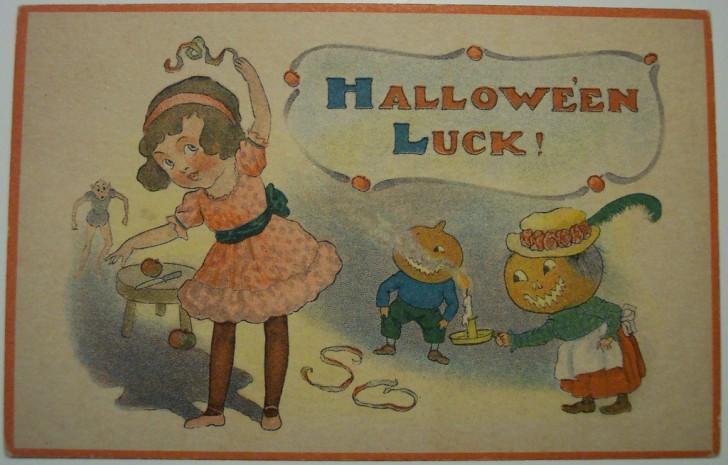 Ilustraciones Halloween antiguas 027