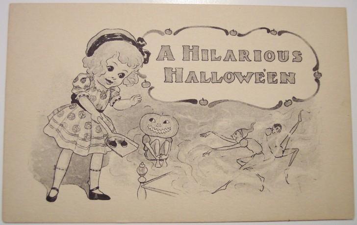 Ilustraciones Halloween antiguas 028