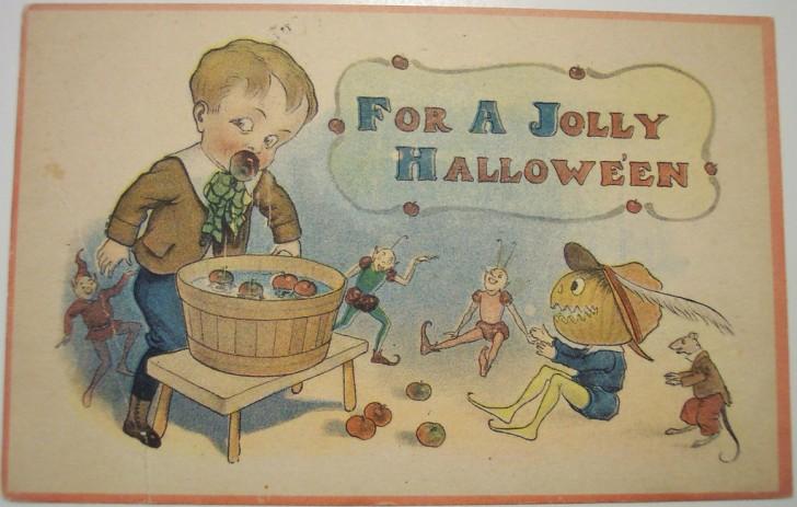 Ilustraciones Halloween antiguas 029
