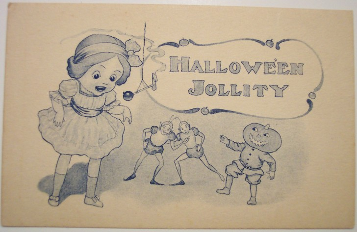 Ilustraciones Halloween antiguas 030