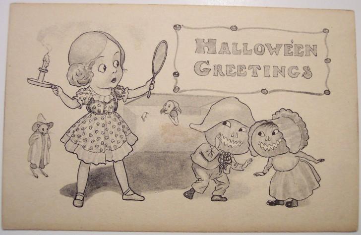 Ilustraciones Halloween antiguas 031