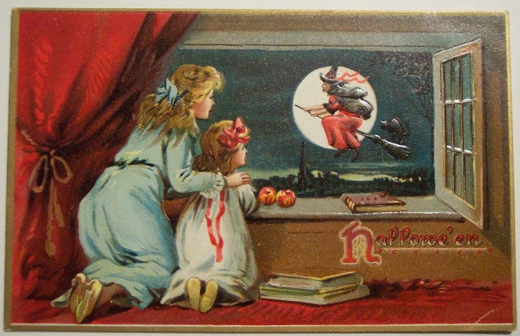 Ilustraciones Halloween antiguas 032