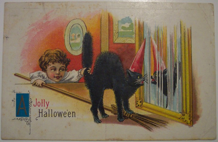 Ilustraciones Halloween antiguas 034