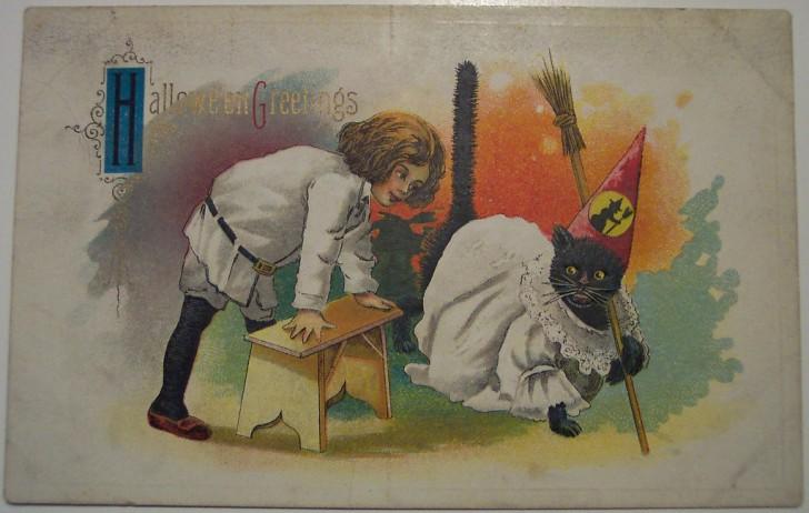 Ilustraciones Halloween antiguas 035