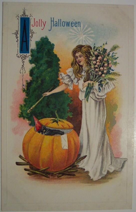 Ilustraciones Halloween antiguas 036
