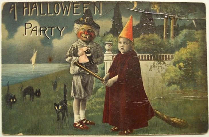 Ilustraciones Halloween antiguas 040