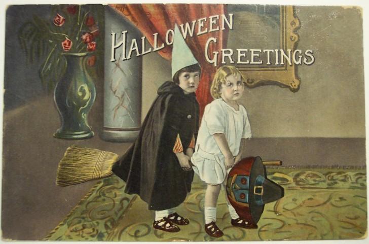 Ilustraciones Halloween antiguas 041