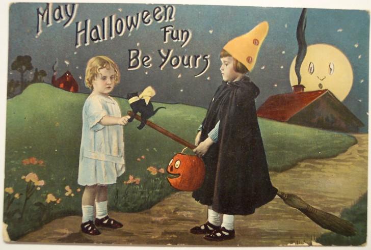 Ilustraciones Halloween antiguas 042