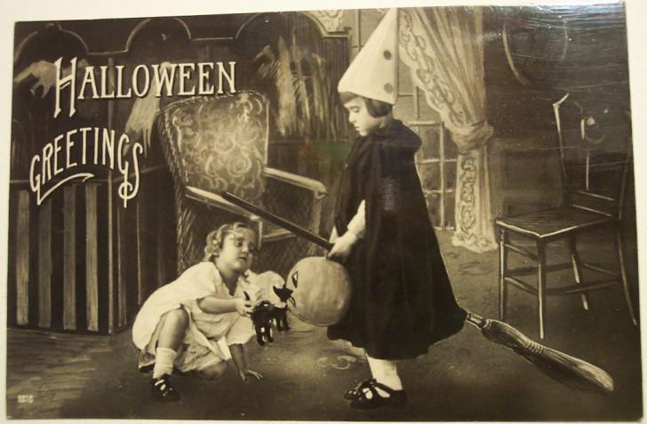 Ilustraciones Halloween antiguas 044