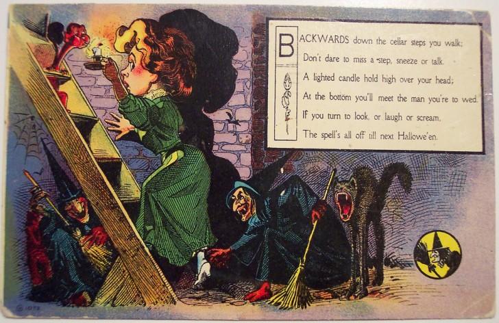 Ilustraciones Halloween antiguas 046