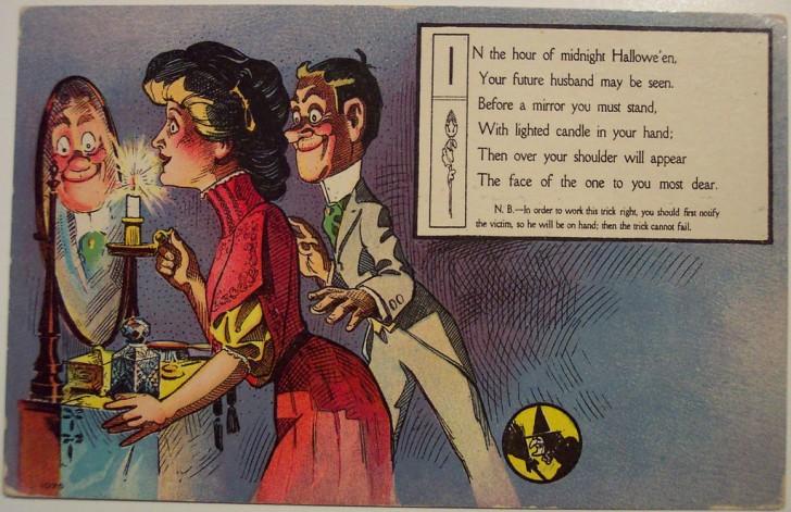 Ilustraciones Halloween antiguas 048