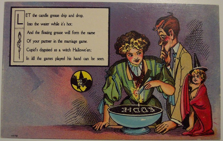 Ilustraciones Halloween antiguas 050