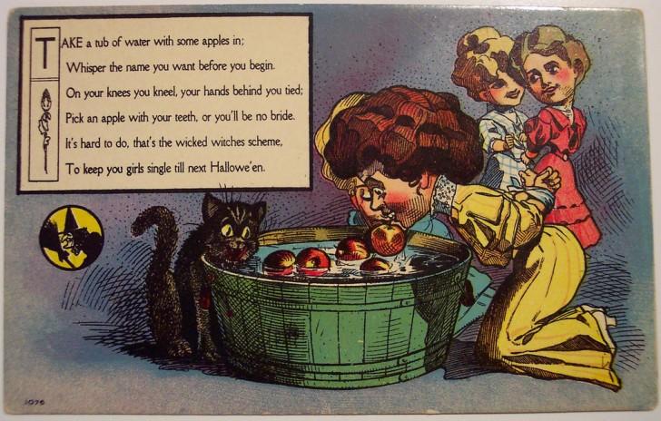 Ilustraciones Halloween antiguas 051