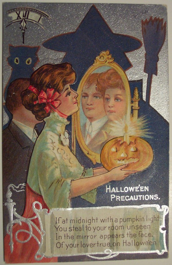 Ilustraciones Halloween antiguas 053