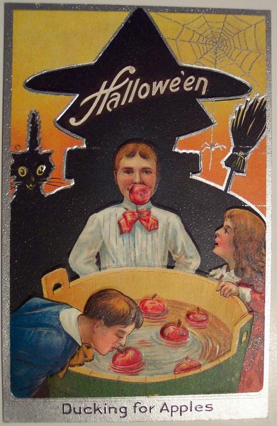 Ilustraciones Halloween antiguas 055