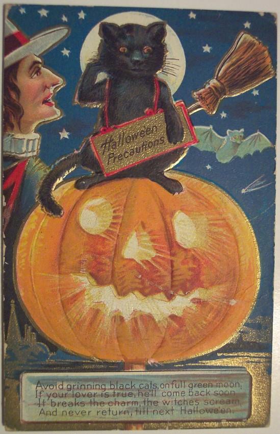 Ilustraciones Halloween antiguas 056