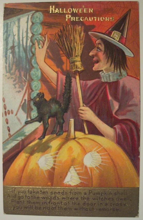 Ilustraciones Halloween antiguas 057
