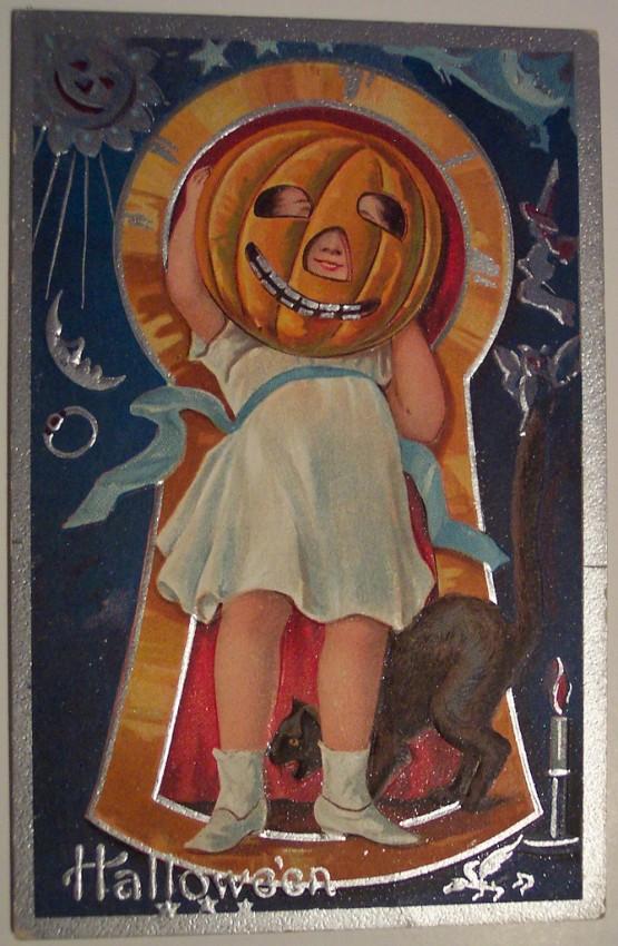 Ilustraciones Halloween antiguas 059